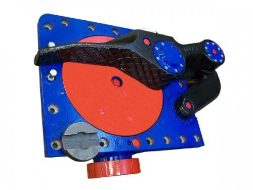 Scrapers drive gear for a heading machine AM-50