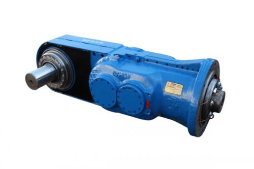 Schrämarm-reduktionsgetriebe 100/20 der teilschnittmaschine AM-50