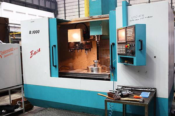 Drilling and Milling Center CNC BACA AFM Andrychów
