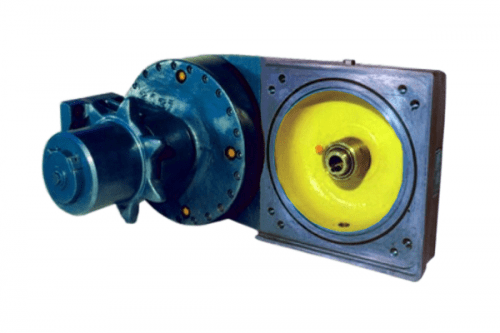 Reduktionsgetriebe des fahrmechanismus 15/256 der teilschnittmaschine AM-50