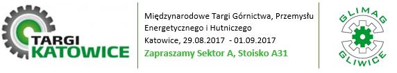 """Glimag na Międzynarodowych Targach Górnictwa, Przemysłu Energetycznego i Hutnictwa """"Katowice"""""""